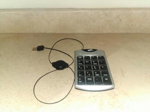 teclado numero auxiliar conexion usb. especial para laptop