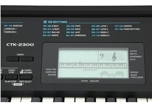 teclado organo casio ctk 2300 61 teclas piano soundgroup