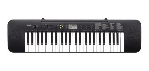teclado organo casio ctk240 4 octavas 49 teclas fuente pie