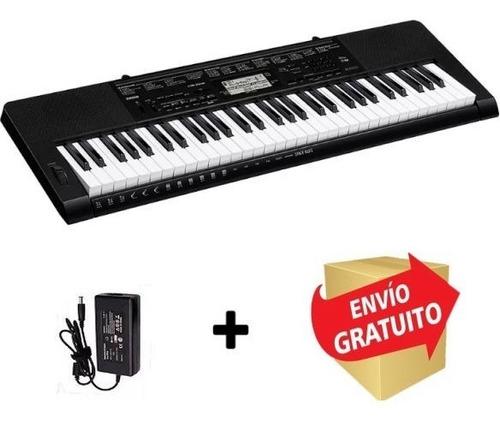 teclado organo casio ctk3500 sensitivo 61 teclas + cuotas