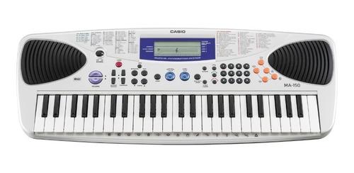 teclado organo casio ma150 flash musical soundgrop palermo.