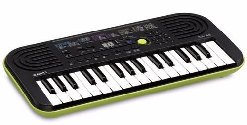 teclado organo casio sa46 32 teclas mini para niños