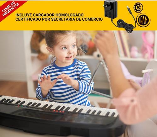 teclado organo musical gadnic atril micrófono nuevo garantia
