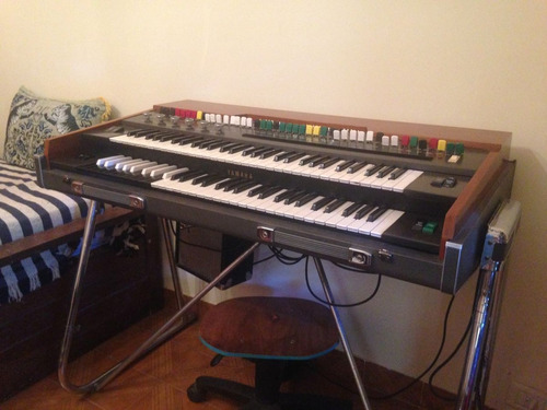 teclado / organo yamaha yc 45d vintage / rcia, chaco