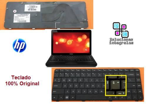 teclado original hp compaq cq42 series negro ingles