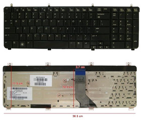 Teclado para PORTATIL HP Pavilion DV7-2000 Series DV7-2100 Series DV7-2200 Series DV7-3000 Series DV7-3100 Series EN ESPA/ÑOL con /Ñ