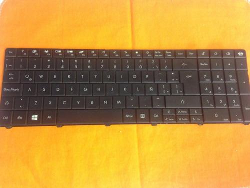 teclado original notebook packard bell ms2384