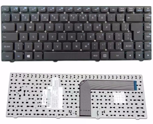 teclado original notebook positivo master n190i - core i5