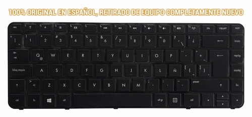 teclado original sleekbook hp touch 14-b175la pn: 697904-161