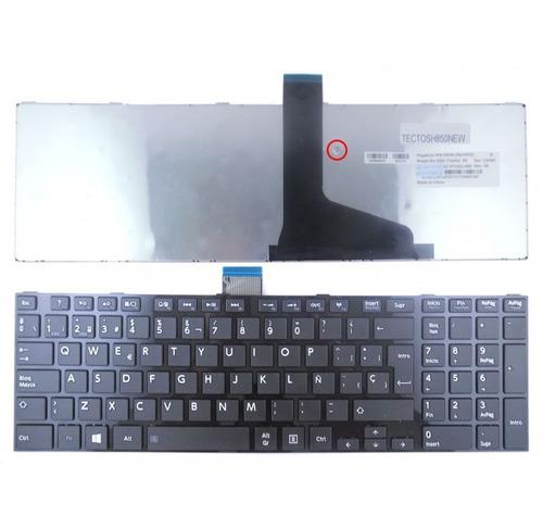 teclado original toshiba l855 black c850 c855 c870