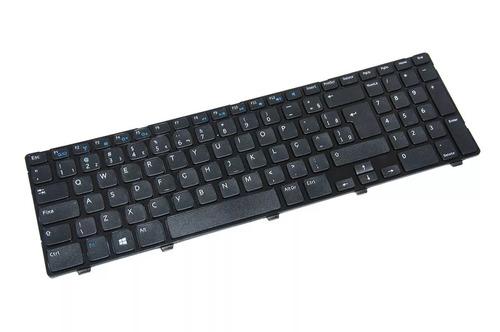 teclado p/ dell inspiron 15r 5537 compatível p/n 0j84th