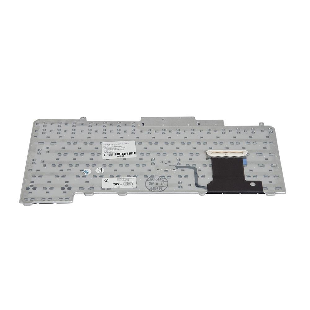 Teclado P/ Dell Latitude D630 Pointing Stick - Marca Bringit