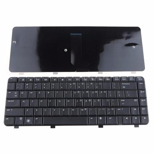 teclado p/ hp compaq presario cq40 cq45  series cor preta us