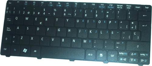 teclado p/ mini acer one ao532h  negro español nav50 mmu