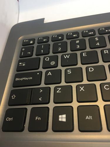 teclado + palmrest dell inspiron 15 5567 / 15 5565 latino