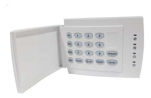 teclado para alarme monitorado e residencial paradox 1686hpt