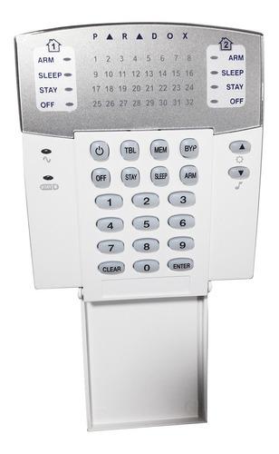 teclado para alarme residencial 32 zonas magellan paradox