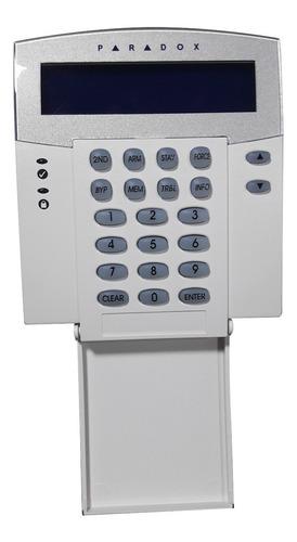 teclado para central de alarme residencial paradox esprit