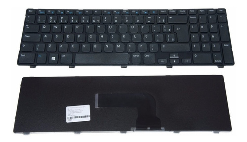 teclado para dell 15r(5537) compatível dp/n 0j84th v137325ar