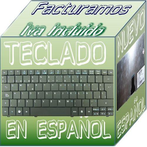 teclado para laptop acer ao751 negro español zae