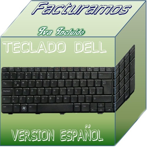 teclado para laptop dell 17r n7010 en español mdn