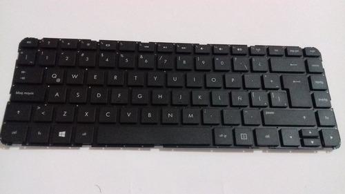 teclado para laptop hp 14-b158la compatible negro español