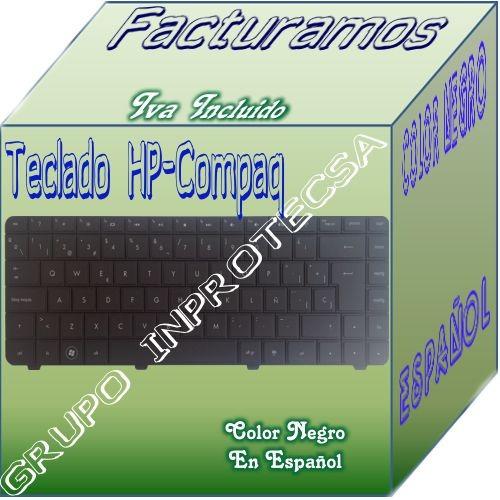 teclado para laptop hp compatible con spare 600175-161