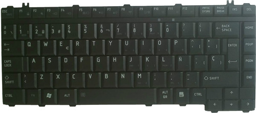 teclado para laptop toshiba en español l305d-s5949