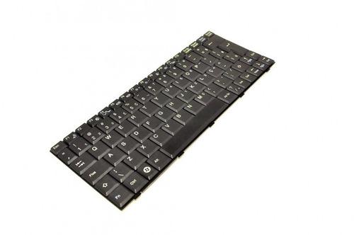 teclado para notebook advent 9112 9212 9912   abnt2 preto