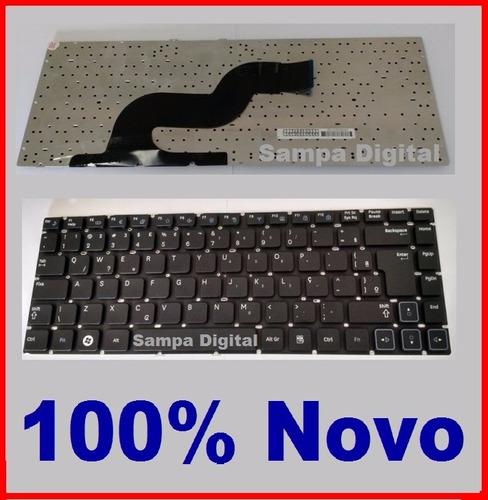 teclado para notebook samsung rv411 rv415 rv420 rv419 com ç