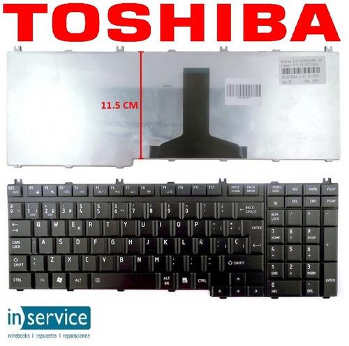 teclado para notebook toshiba c650 c655 l650 l655  español