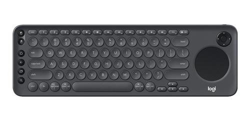 teclado para smart tv logitech k600 multimedia con touch pad