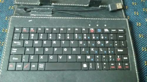 teclado para tablet 7 polegadas e entrada usb