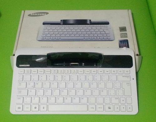 teclado para tablet samsung tab 2. modelo ecr-k10lwegsem