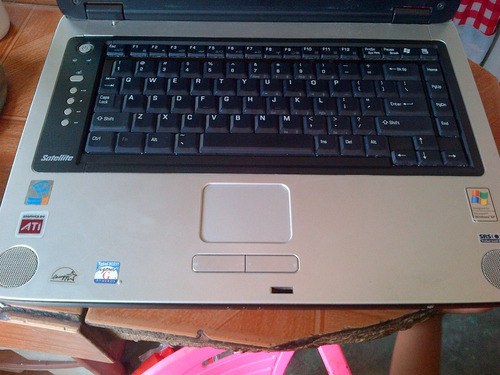 teclado para toshiba