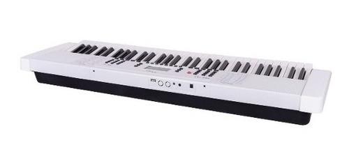 teclado parquer 61 teclas full size blanco k163wh
