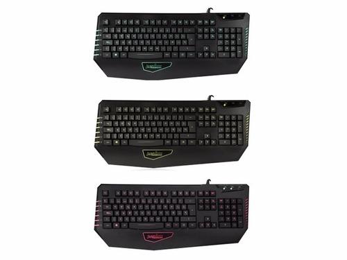 teclado perixx px-1800 gamer con luces usb juegos