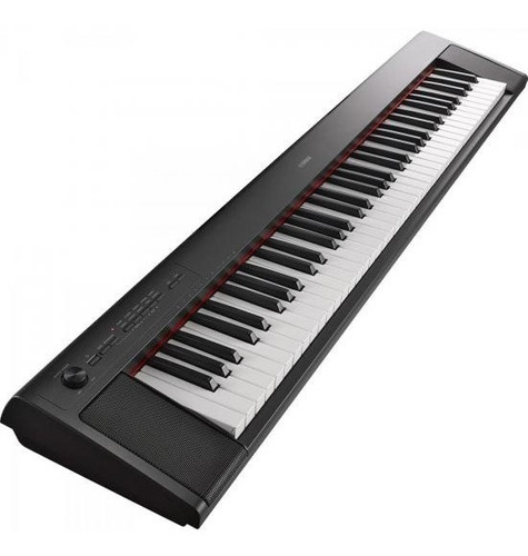 teclado piaggero np-32b preto yamaha
