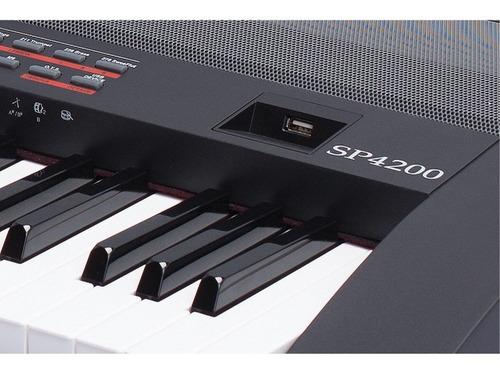 teclado piano escenario sp 4200
