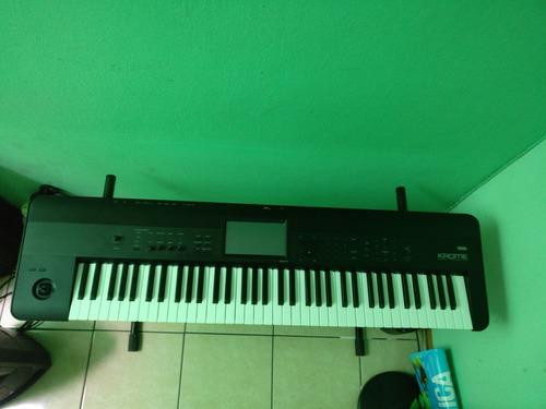 teclado piano sintetizador korg krome 73 teclas