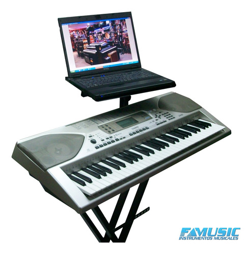 teclado piano soporte