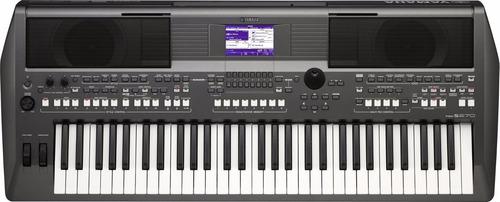 teclado piano yamaha psr670 + adaptador original pa300c