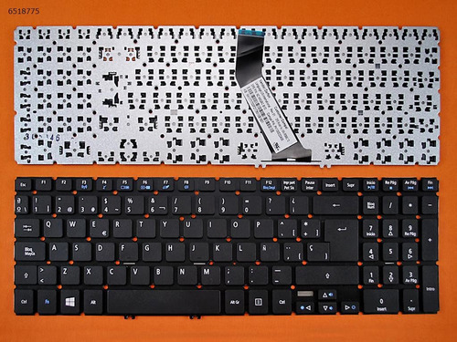 teclado portatil acer