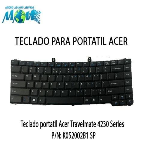 teclado portatil acer travelmate 4230 series pn: k052002b1 s