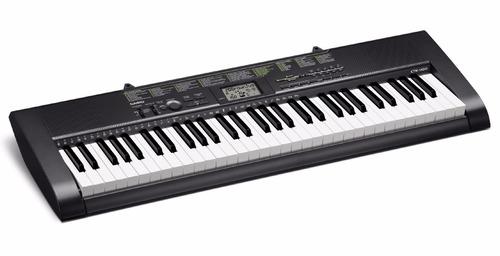 teclado portatil casio 61 teclas pantalla lcd ctk-1100
