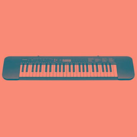 teclado  portatil ctk-240a c/ eliminador  casio
