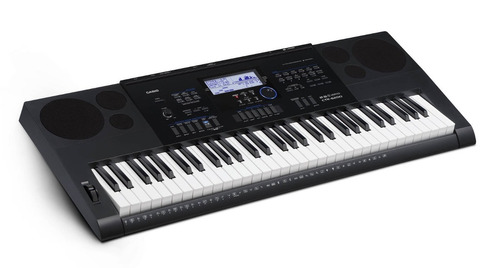 teclado portátil de 61 teclas con eliminador casio ctk-6200
