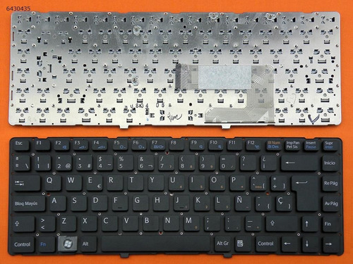teclado portatil sony vaio
