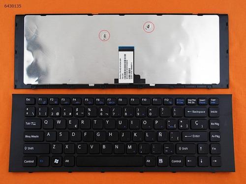 teclado portatil vpc-eg vpc eg series español