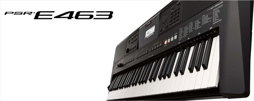 teclado portatil yamaha psr-e463 nuevo!  meses sin intereses